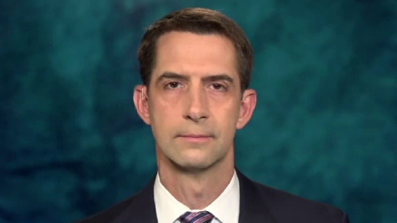 Sen. Tom Cotton calls out China for allegedly lying, cover-up on pandemic