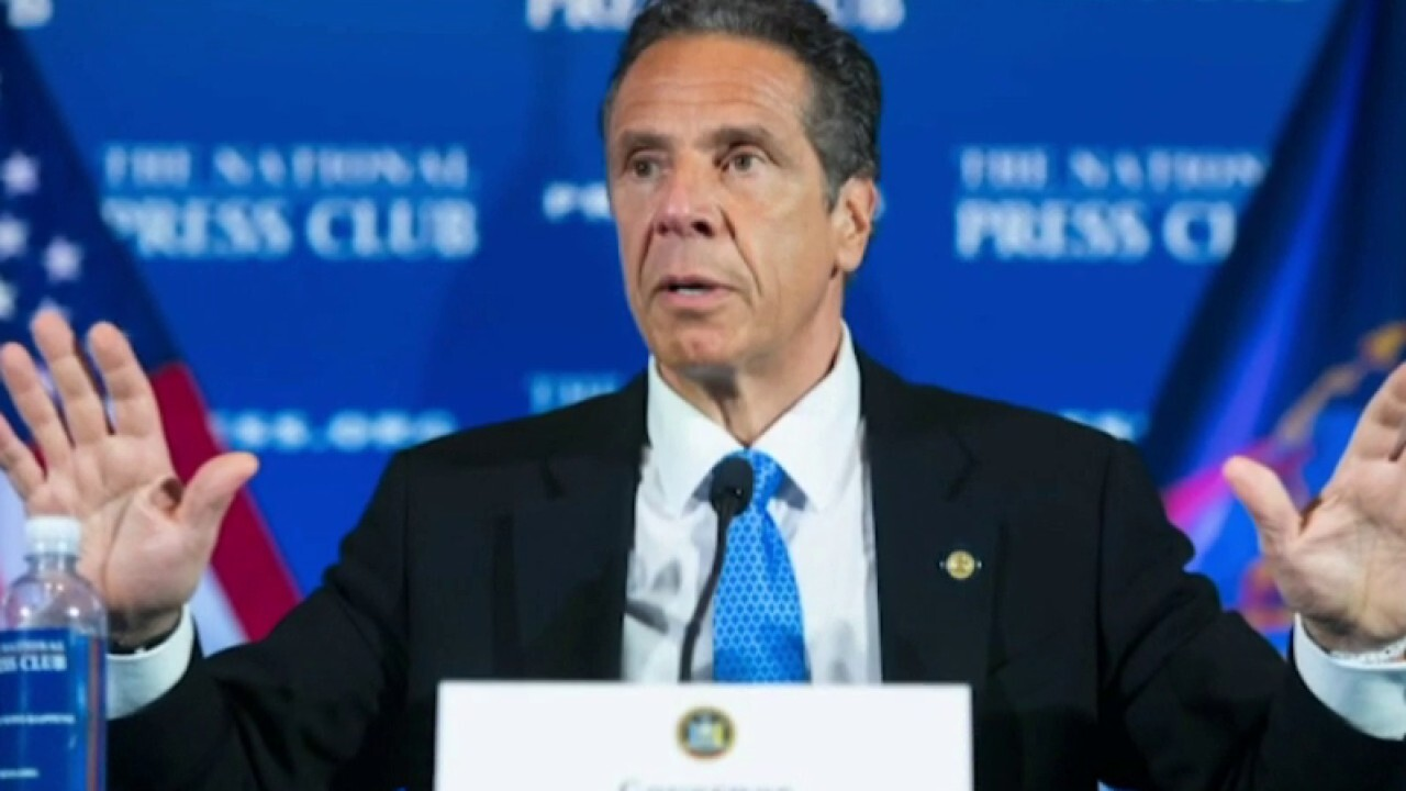 New York lawmakers push for repeal of Gov. Cuomo's emergency powers