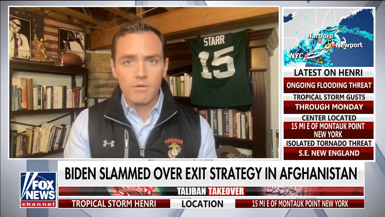 Rep. Mike Gallagher says Biden 'has not leveled with the American people'