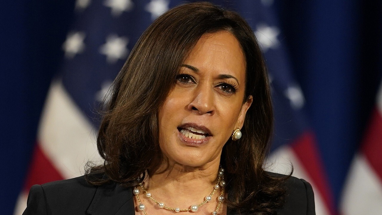 Harris says Trump and Barr in 'different reality' over systemic racism