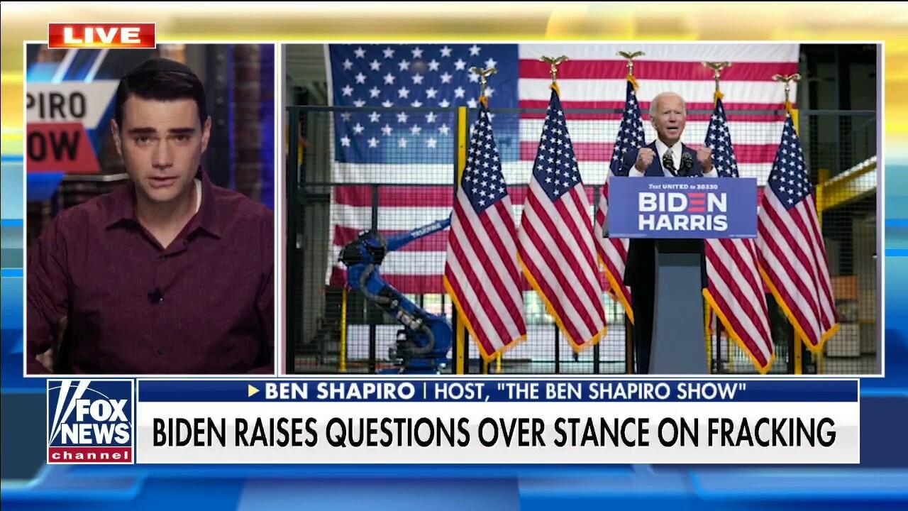 Ben Shapiro reacts to Joe Biden's flip-flops on policy