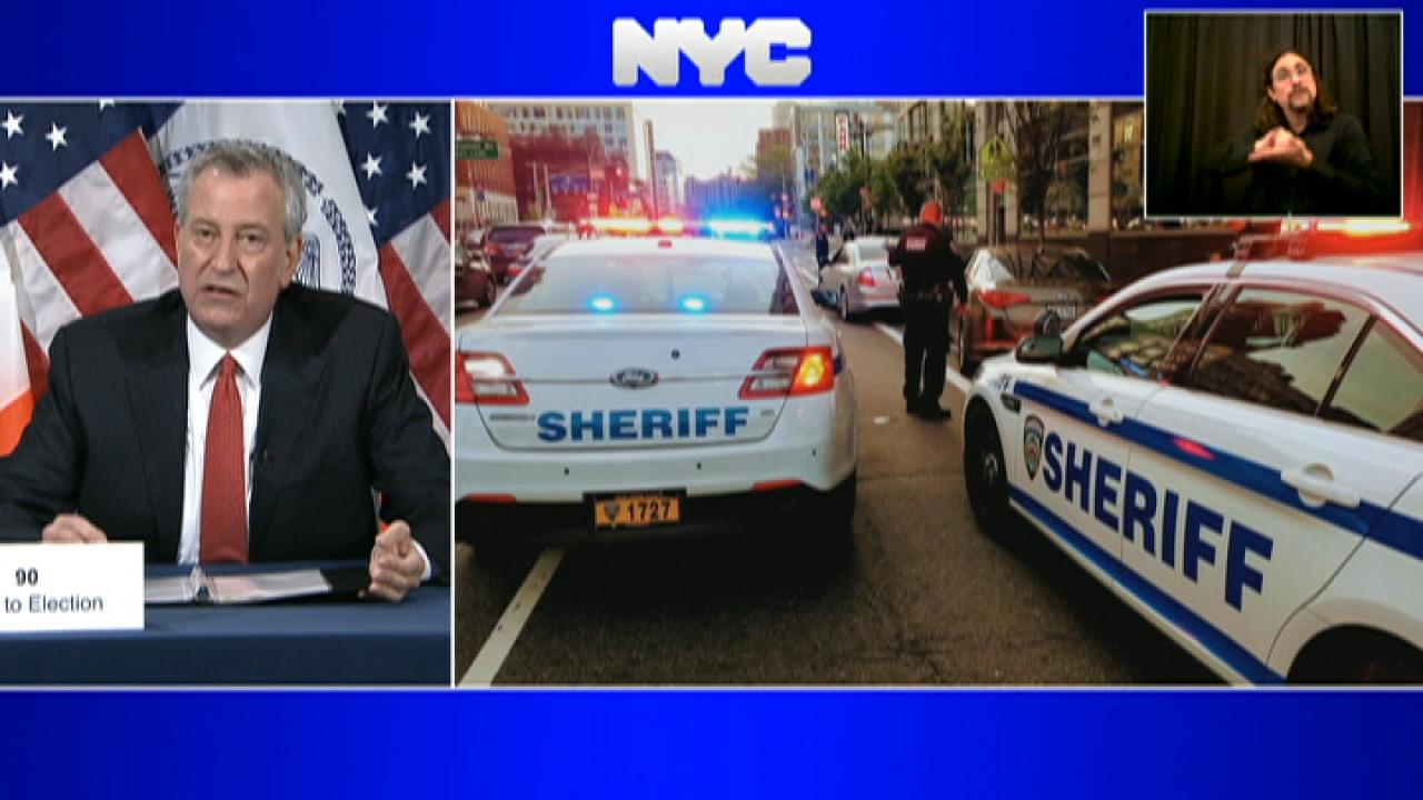 New York City: New York City crime skyrockets as Mayor...