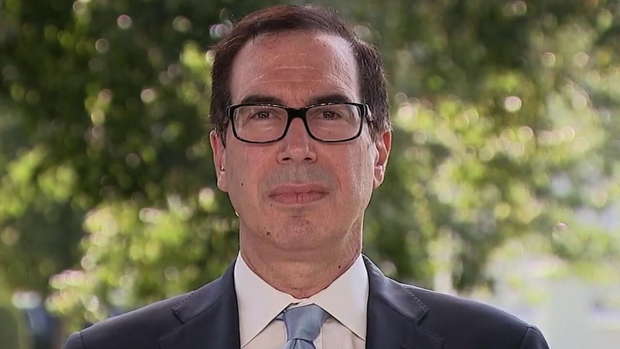 Treasury Secretary Steven Mnuchin joins Chris Wallace on 'Fox News Sunday.'