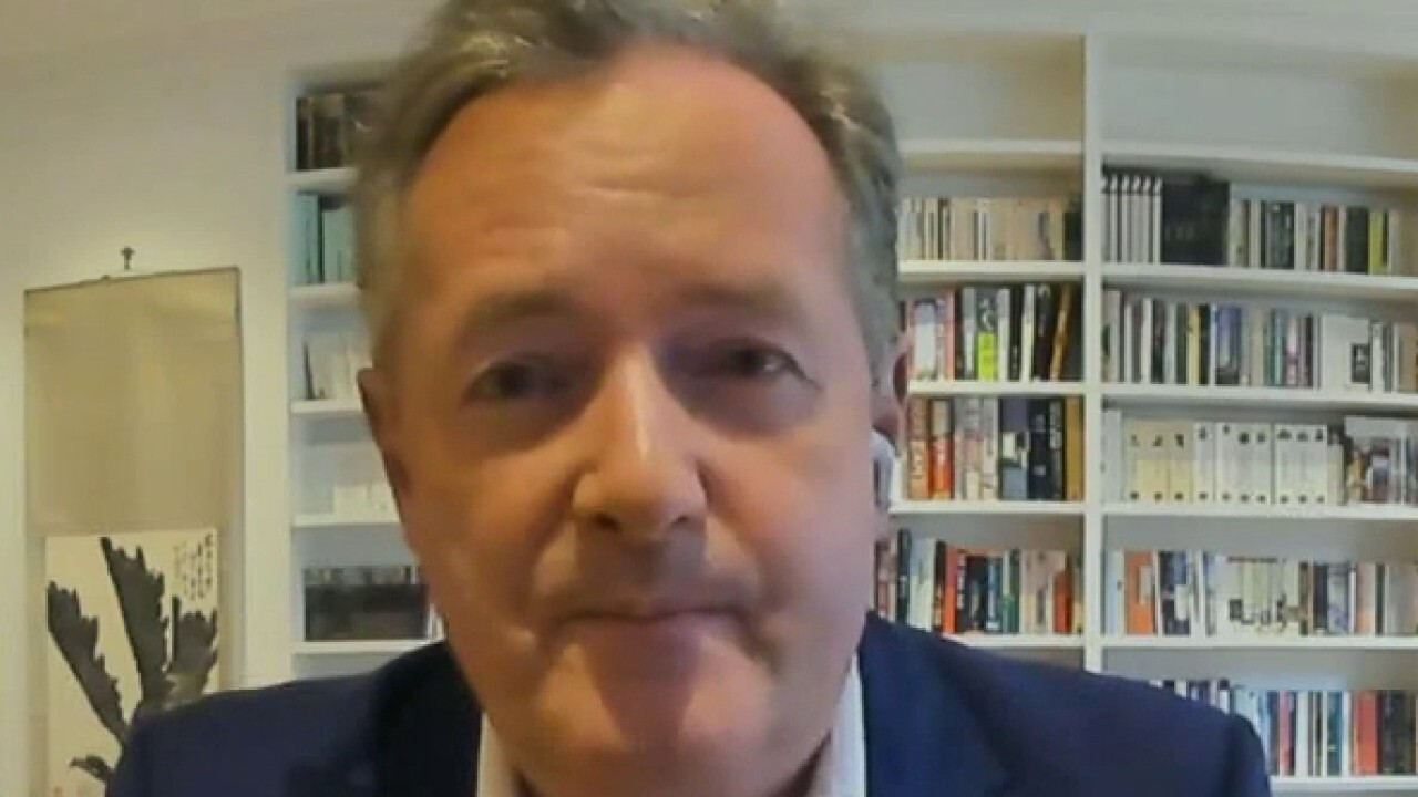 Piers Morgan slams 'hyper-partisan' journalists on Hunter Biden story