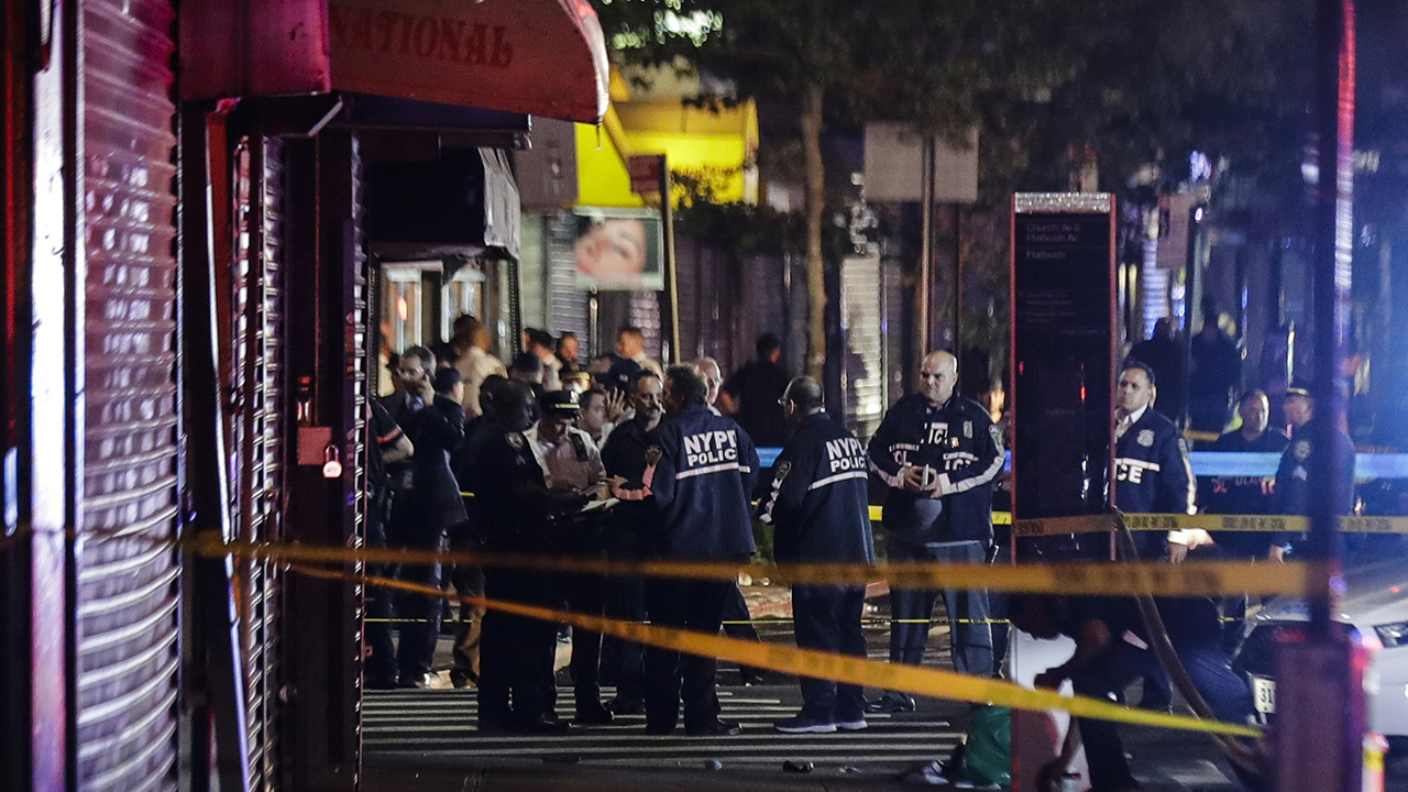 Three NYPD officers wounded during riots in stable condition