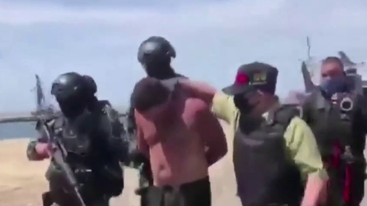 Maduro airs video of American detained in alleged Venezuela coup attempt