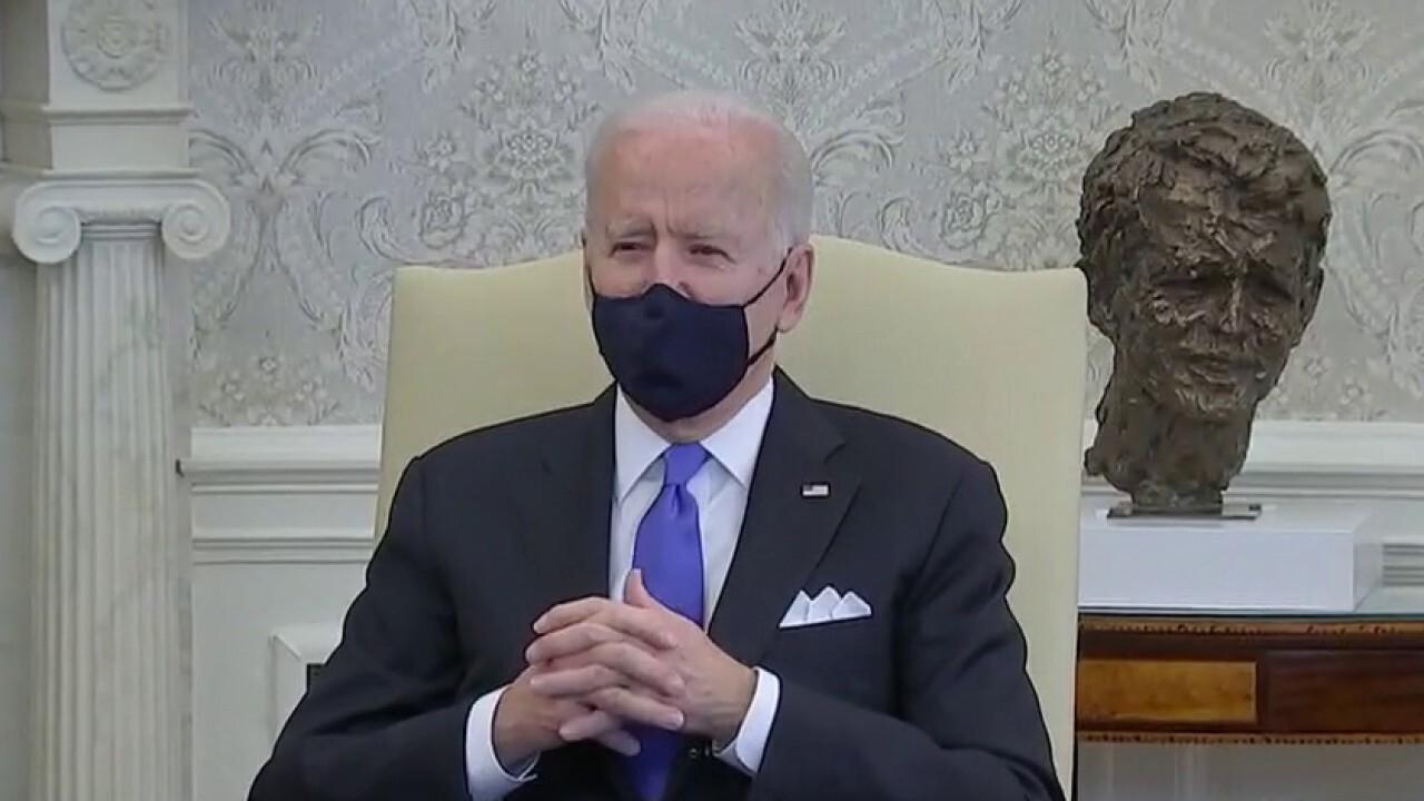 President Biden slams Texas, Mississippi for lifting mask mandates