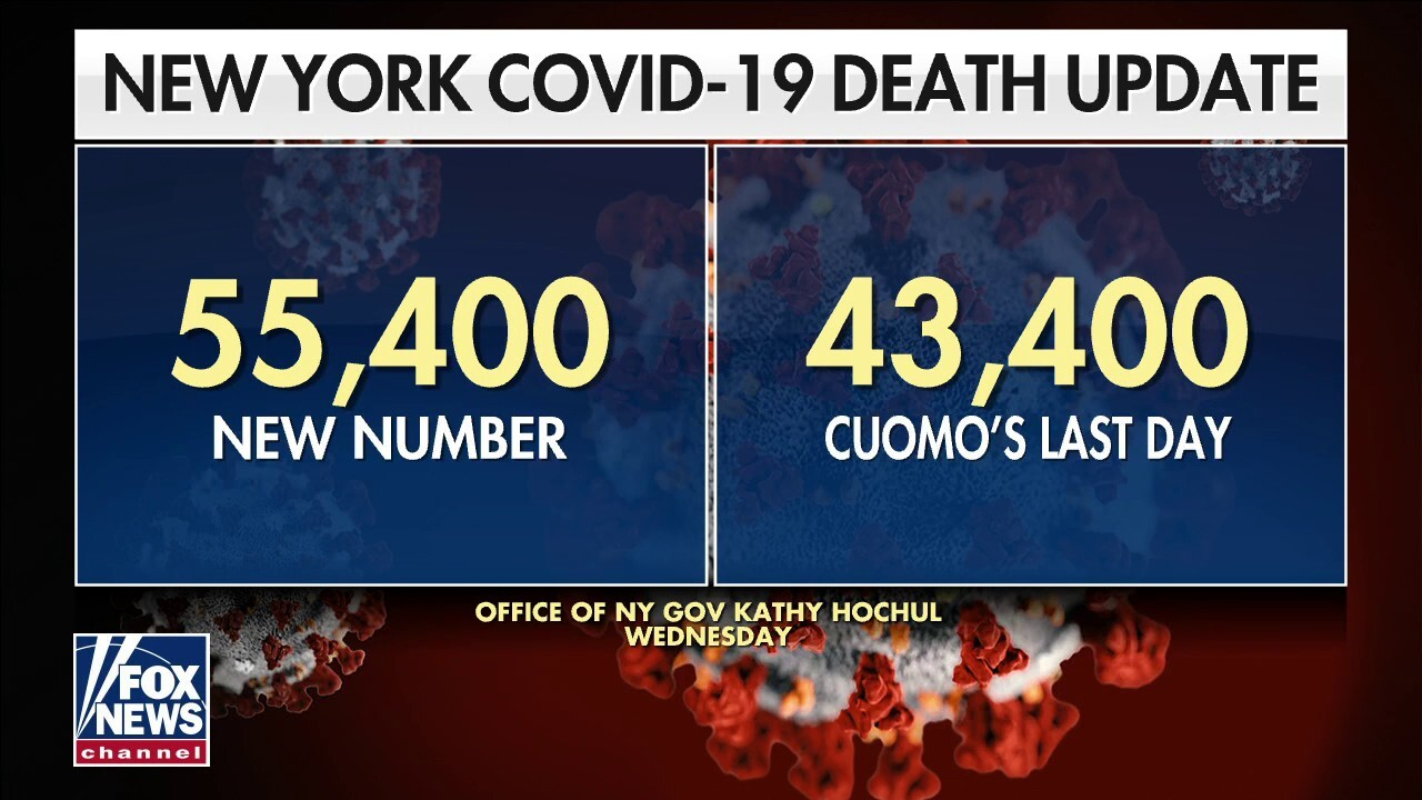 NY Gov. Kochul adding 12,000 COVID deaths to state tally a 'good first step': Failla