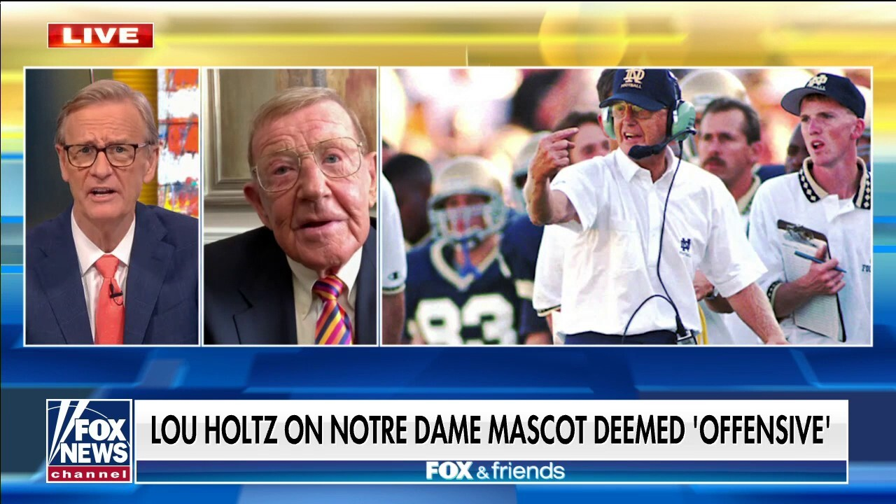 Holtz: Notre Dame 'Fighting Irish' logo fine to support, silent majority needs to stand up