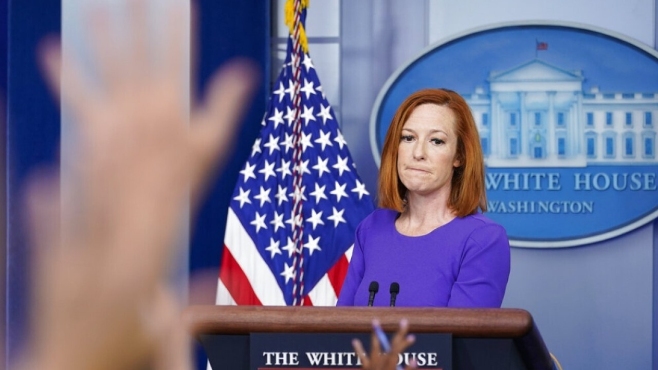 Jen Psaki knows she can get away with lying about police funding: Rubin