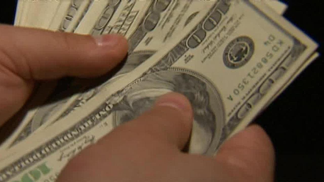 Workers are also contributing less to retirement funds; Fox Biz Flash: 5/27.