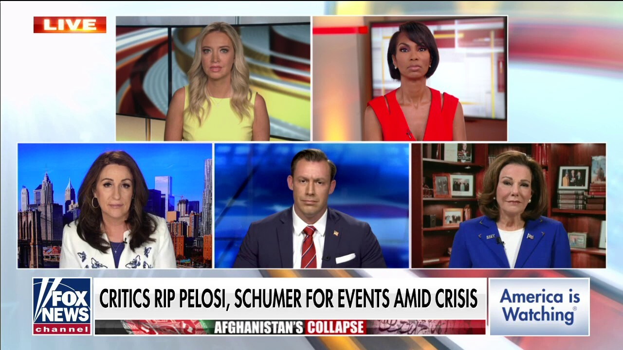 Faulkner: 'Why won't Kamala Harris go to Afghanistan if she really cares about women?'