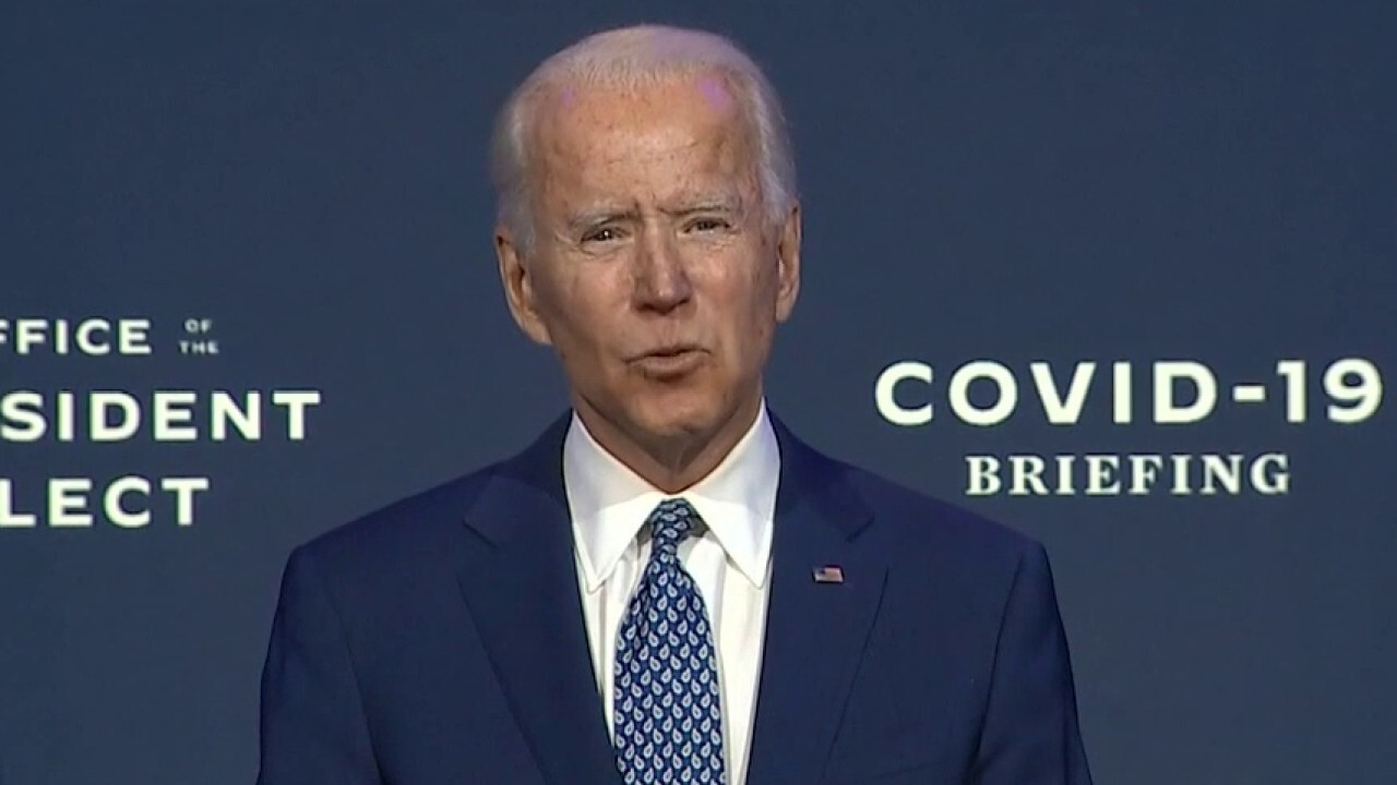 Biden assembles list of executive orders to sign Inauguration Day