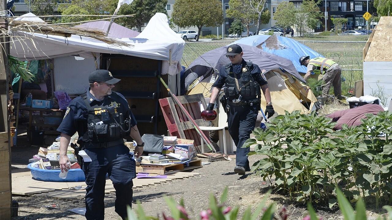 Raymond Arroyo exposes the Dems' California homeless crisis