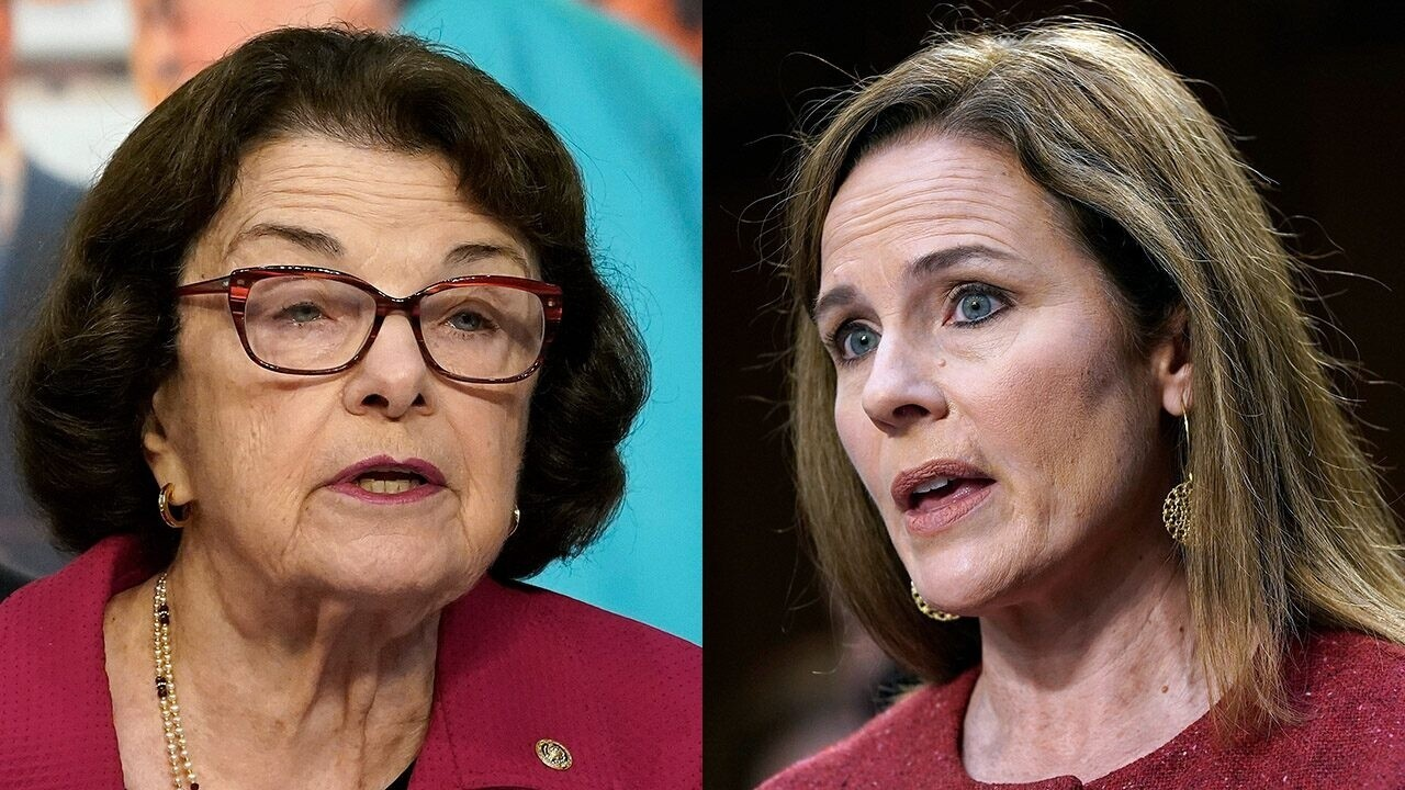 Amy Coney Barrett answers Sen. Feinstein on abortion and Supreme Court: 'I'll follow the law'