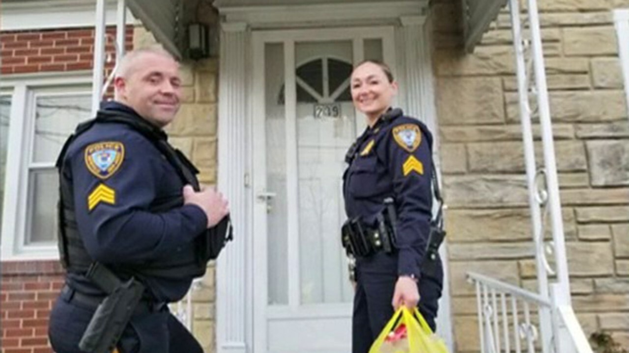 New Jersey police department delivers groceries to seniors during outbreak