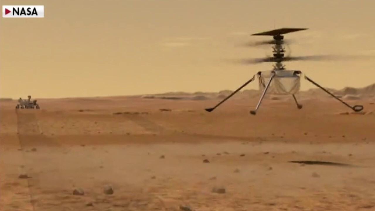 Gutfeld examines NASA's historic Ingenuity helicopter flight on Mars