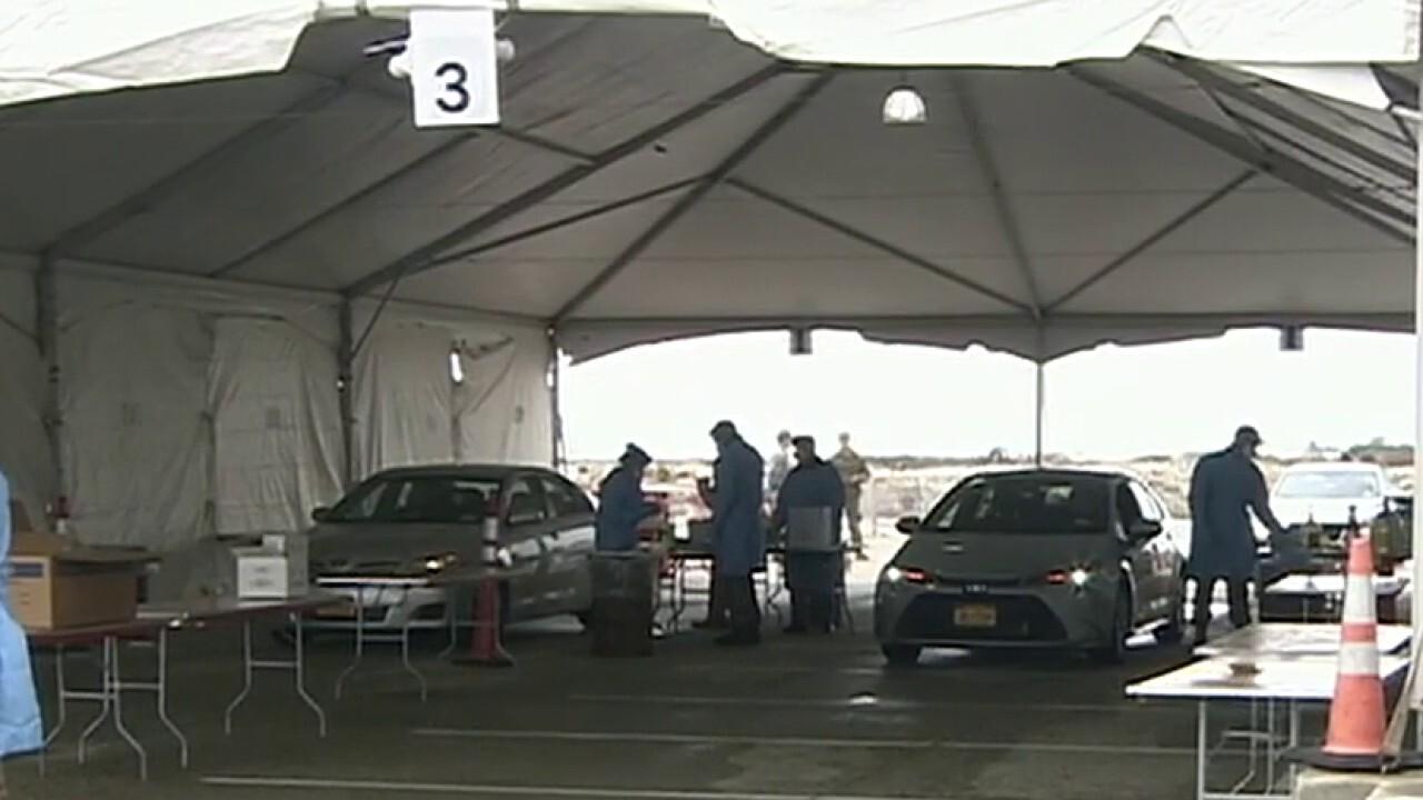 New York expands drive-thru testing facilities