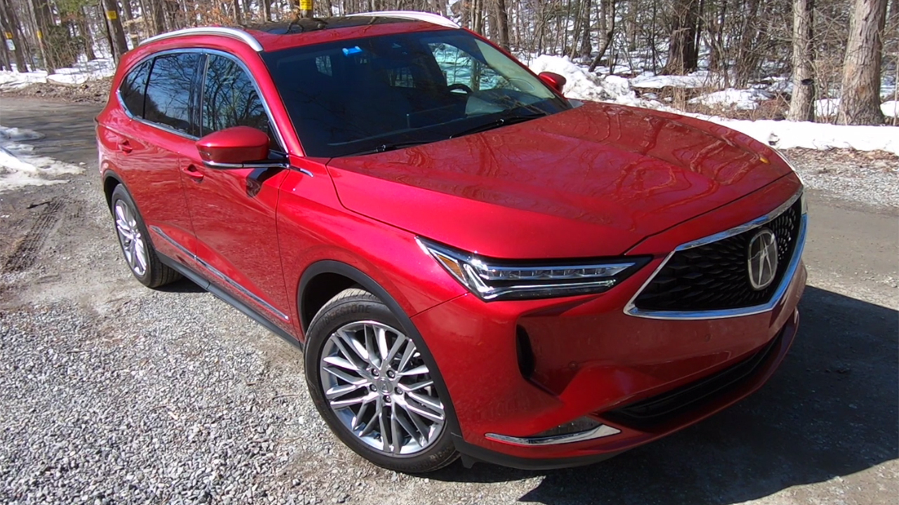 Test drive: 2022 Acura MDX