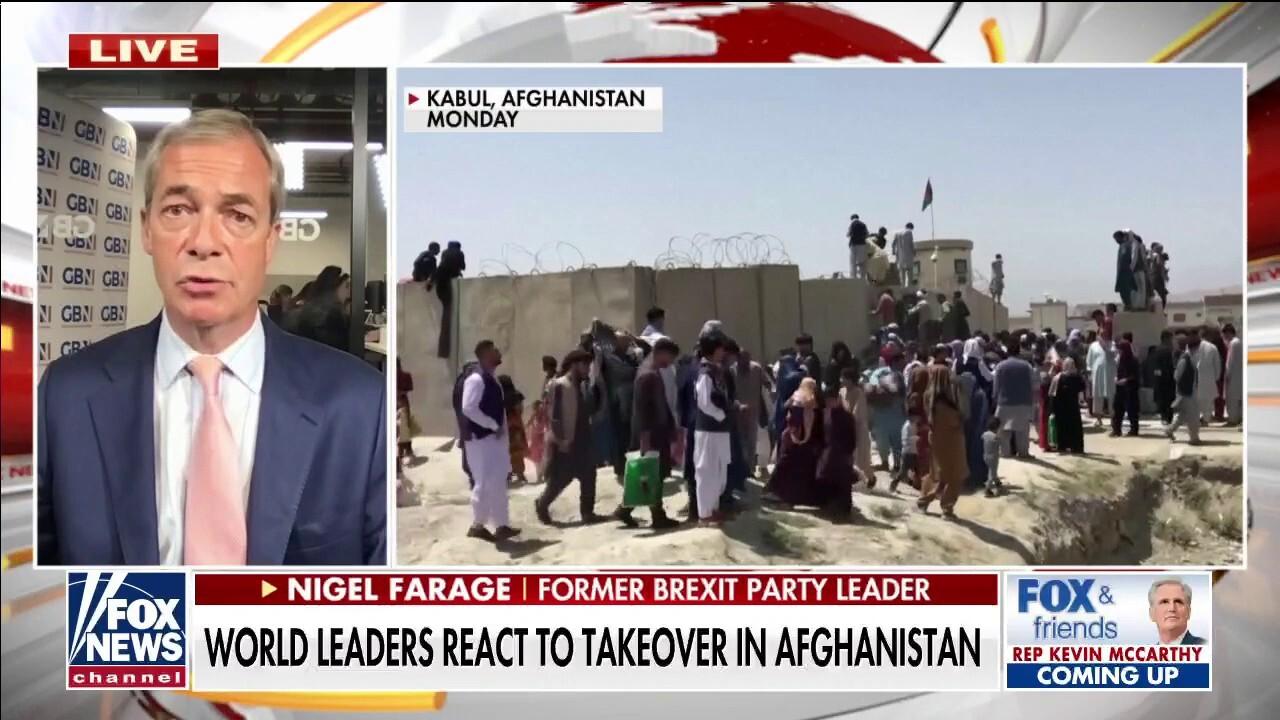 Brexit leader slams Biden for Afghanistan withdrawal: 'Total failure in leadership'