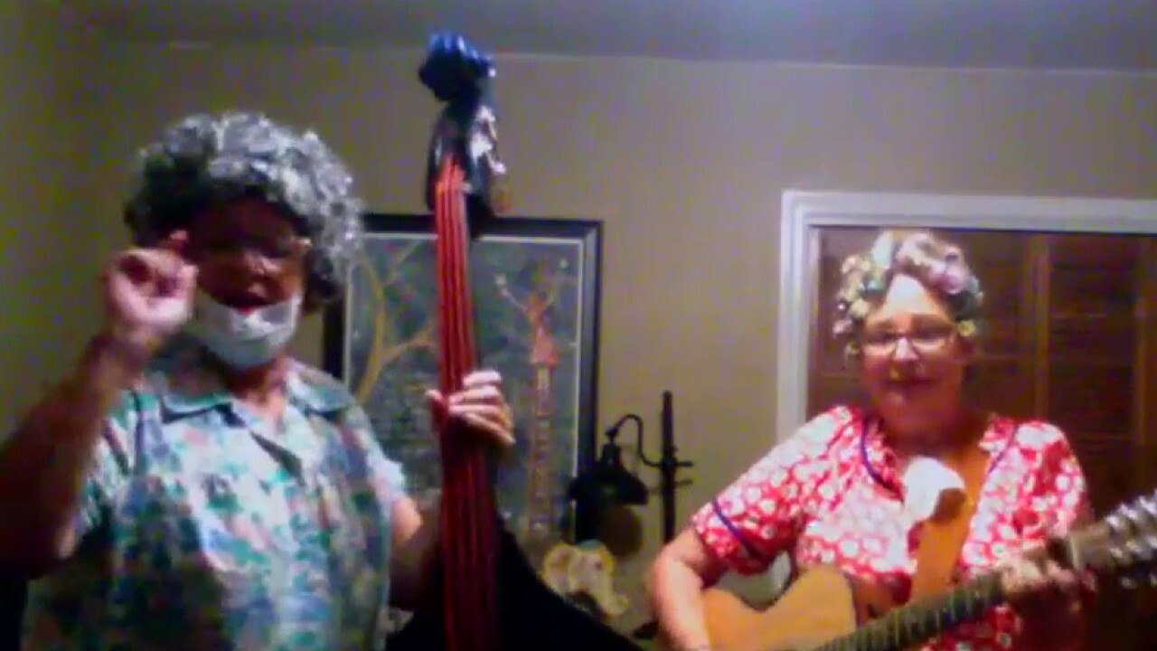Twin sisters sing 'The Coronavirus Blues' to spread awareness, laughs
