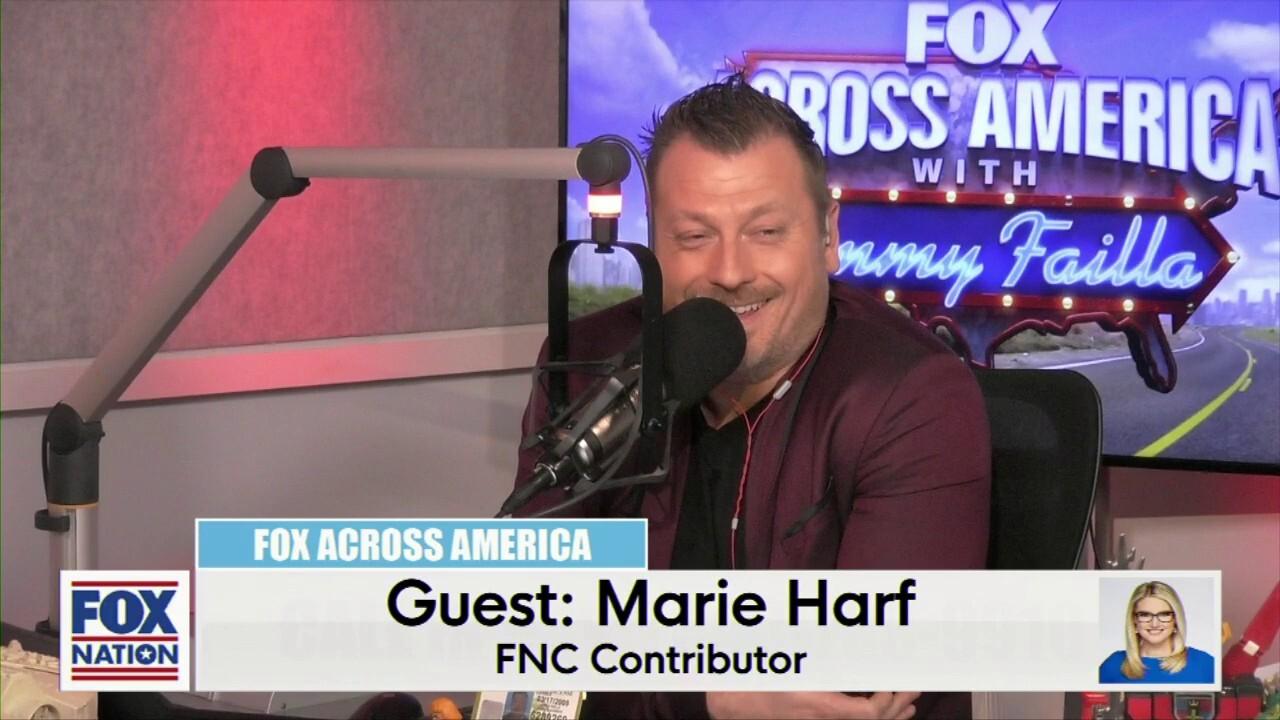 Jimmy Failla and Marie Harf