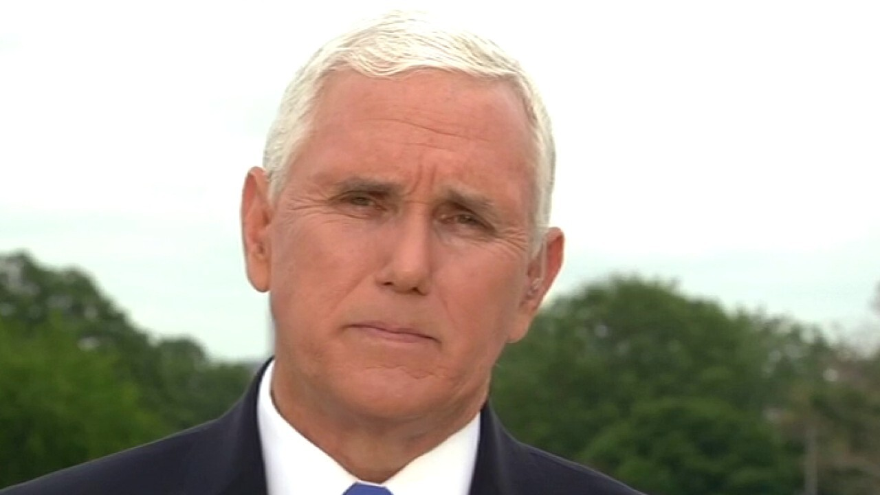 Vice President Pence gives update on reopening efforts on 'Fox & Friends'