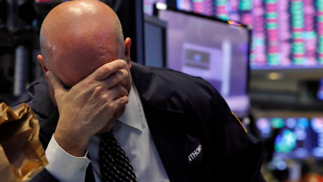 Stock trading halted after Dow opened down 1,700 points and S&P 500 plunges into bear territory