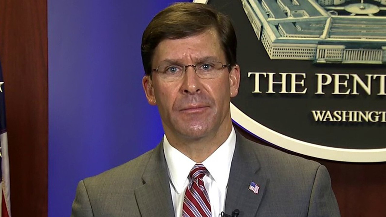 Secretary of Defense Mark Esper joins 'Fox & Friends' to discuss the DOD's role in helping Americans and says it's 'absurd' for China to blame the U.S. military for the spread of COVID-19.