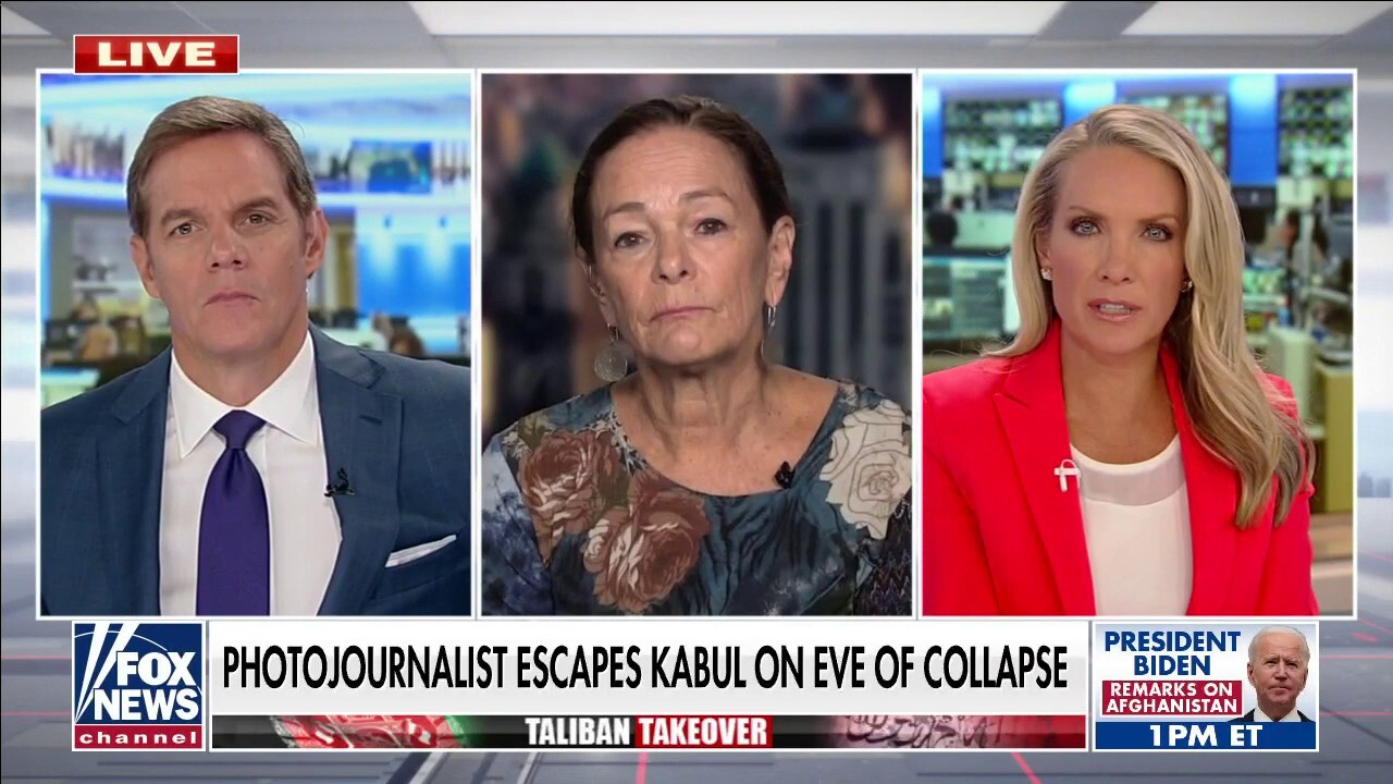 Photojournalist describes narrowly escaping Kabul before Taliban takeover
