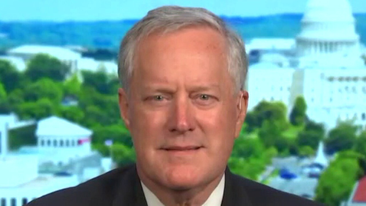 Mark Meadows: More people are crossing the border illegally than showing up to work at the Capitol everyday