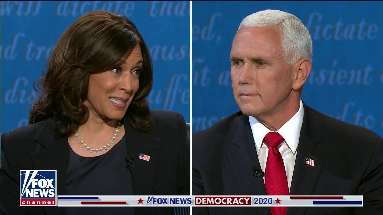 Pence tells Harris:' You're entitled to your own opinions, but you're not entitled to your own facts'