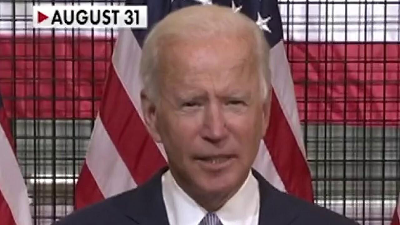 Is Joe Biden plagiarizing the Trump campaign?