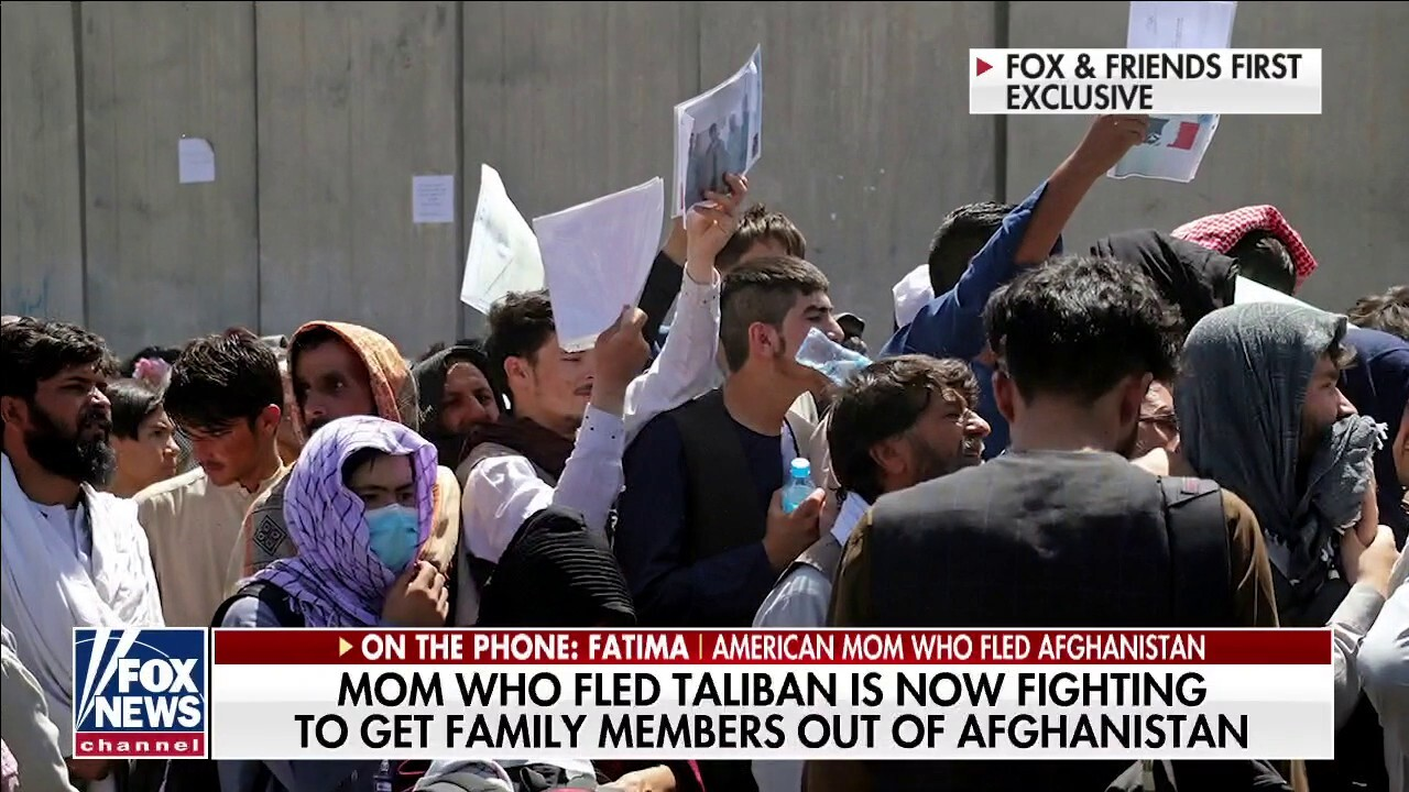 Fatima: The people of Afghanistan are helpless right now