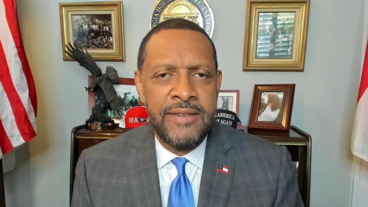 Vernon Jones rips President Biden for hypocrisy in Georgia