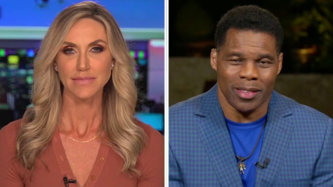 FOX News contributor Lara Trump and former NFL player Herschel Walker discuss their political futures on 'Hannity'