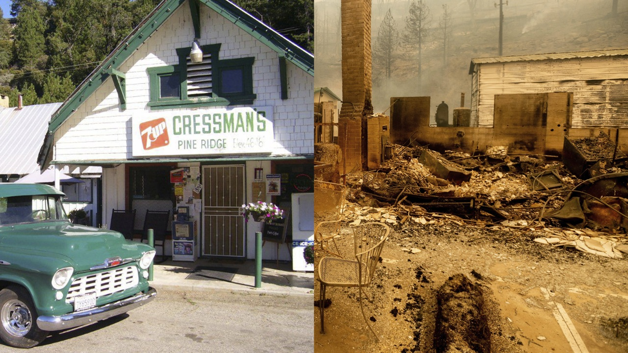 A mountain community grieves the loss of Cressman's General Store in Shaver Lake, California. The iconic landmark has provided food and fuel to residents and vacationers for about 116 years. The owners describe the night the flames destroyed their family business and home.