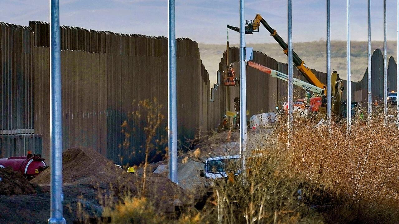 Biden administration to resume border construction