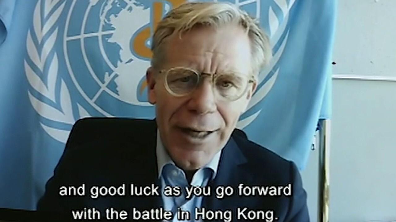 World Health Organization continues to praise China's response to coronavirus outbreak