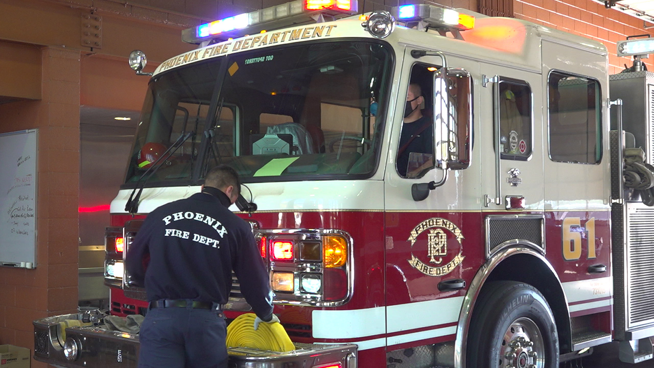 Firefighters prepare for busy week amid COVID-19 pandemic