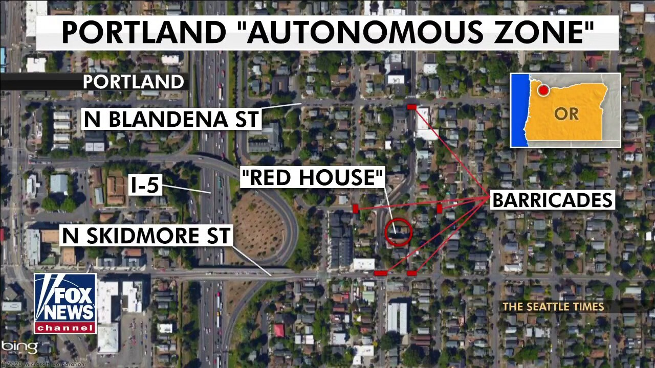 Portland mayor ripped for allowing 'Red House' autonomous zone