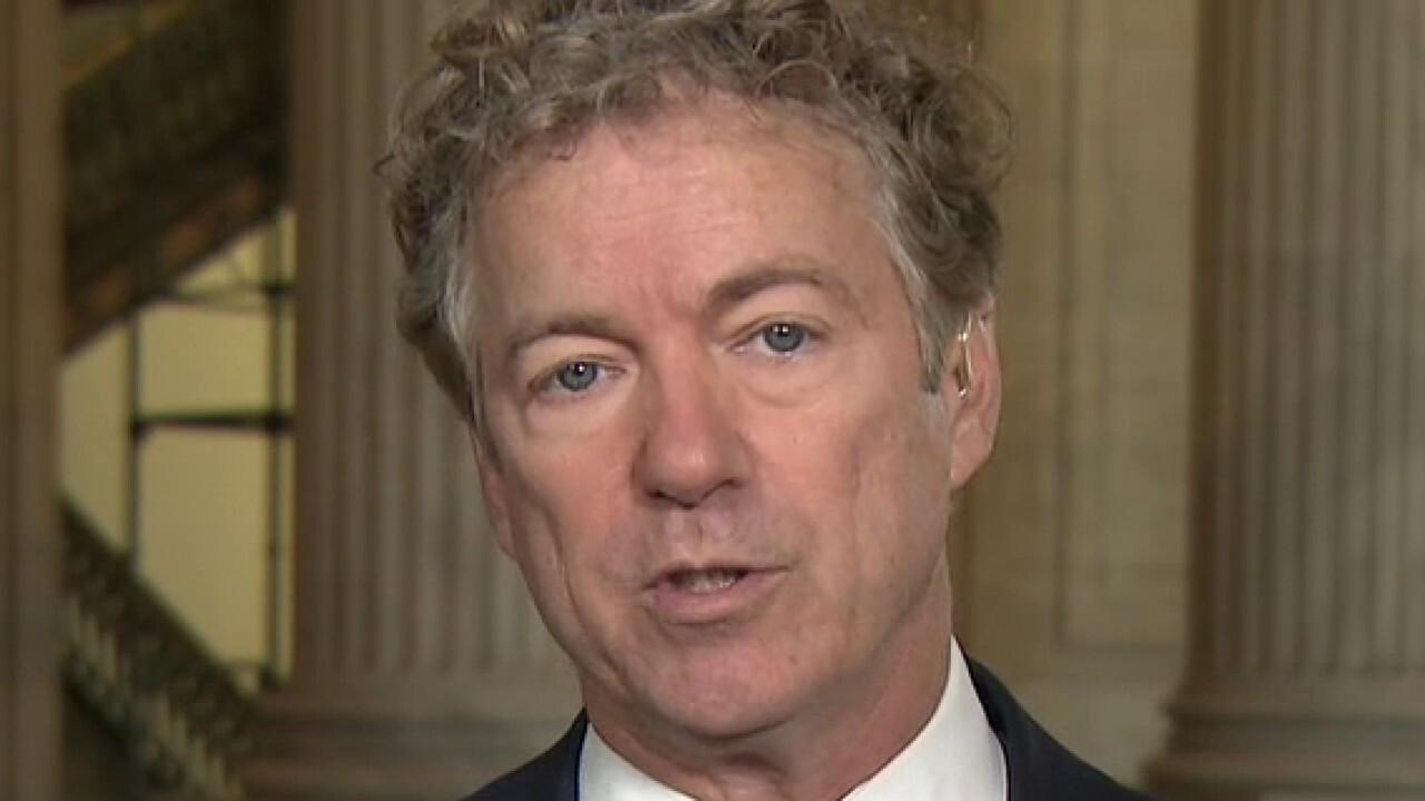 Rand Paul's Senate floor speech against COVID-19 bill goes viral