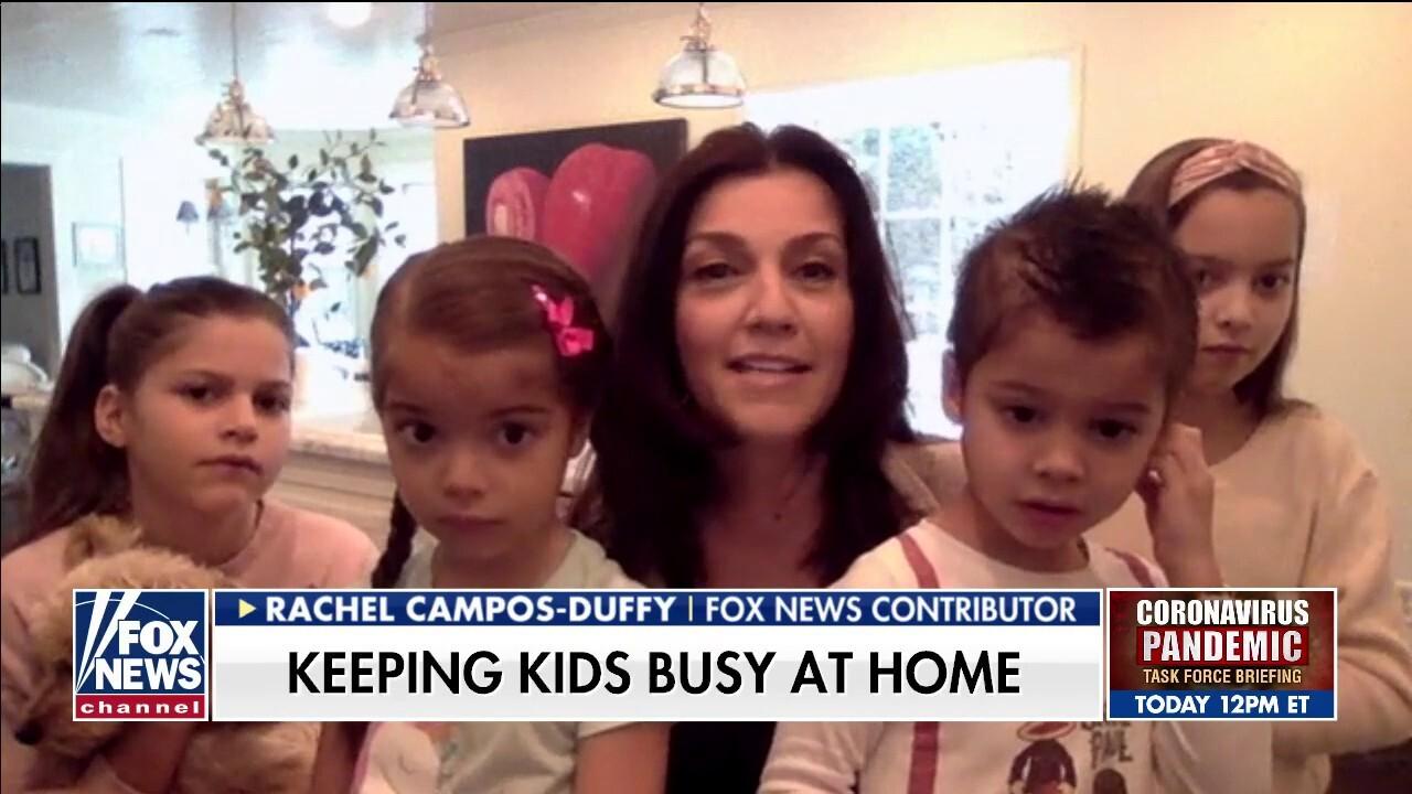 Fox Nation host Rachel Campos-Duffy's advice for parents during the coronavirus outbreak