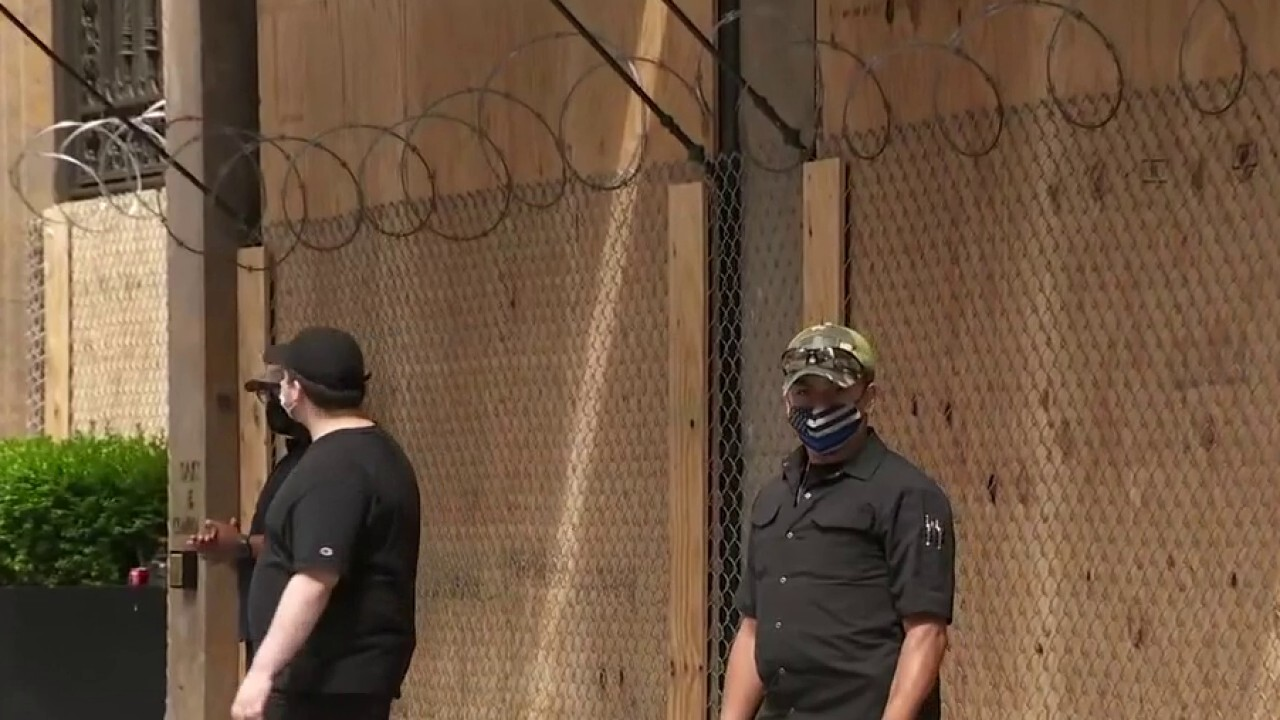 Preparations underway ahead of another night of protests; Laura Ingle reports.