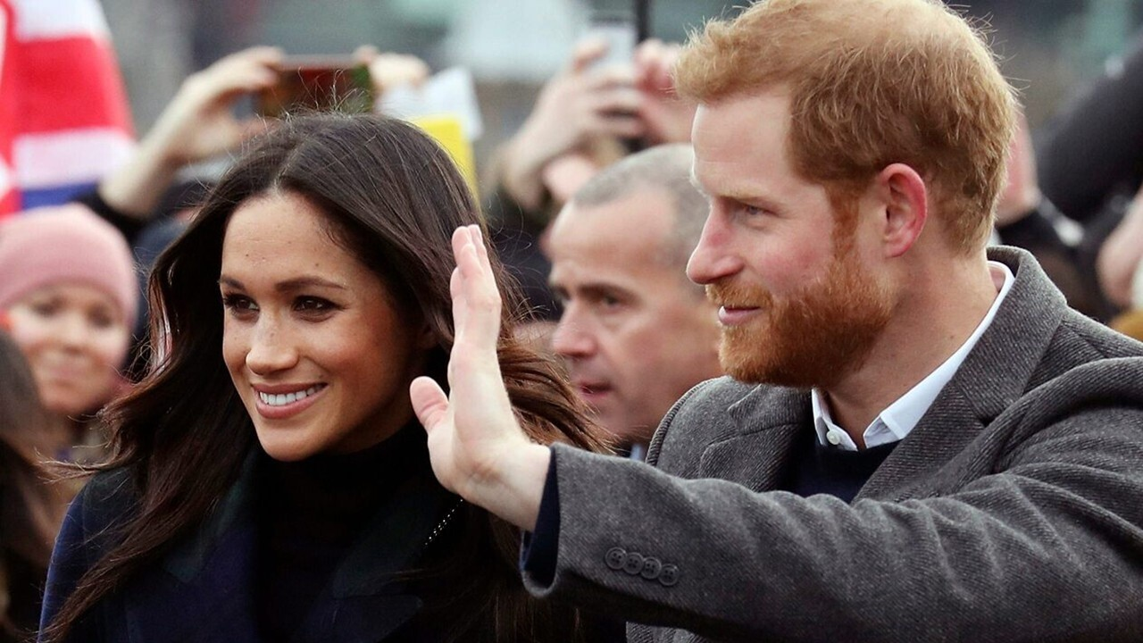 Harry and Meghan return to London for a bash celebrating the sporting achievements of wounded servicemen; Benjamin Hall reports.