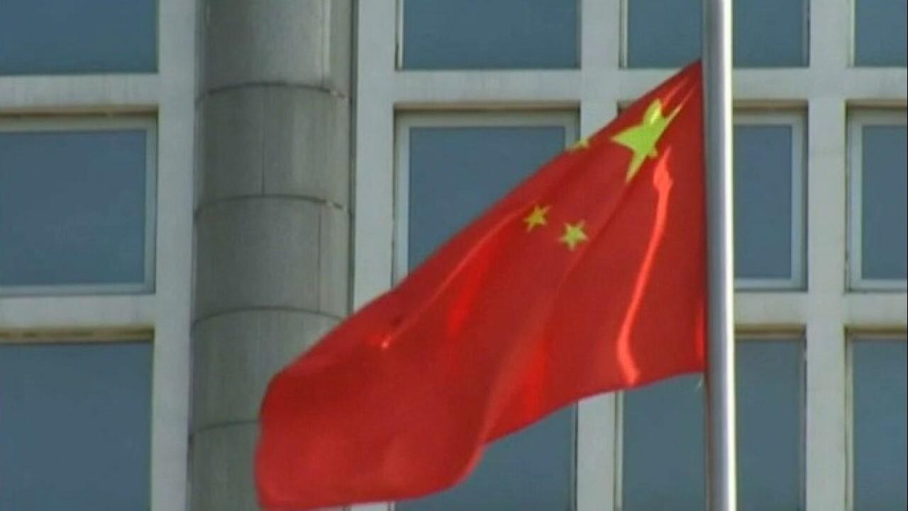 The U.S. warns against 'increasingly aggressive' China