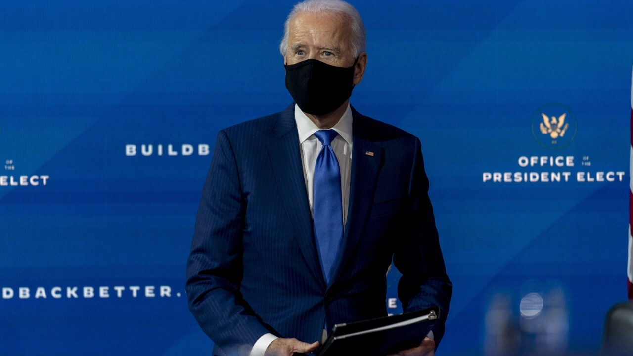 Biden says he would take an approved vaccine publicly