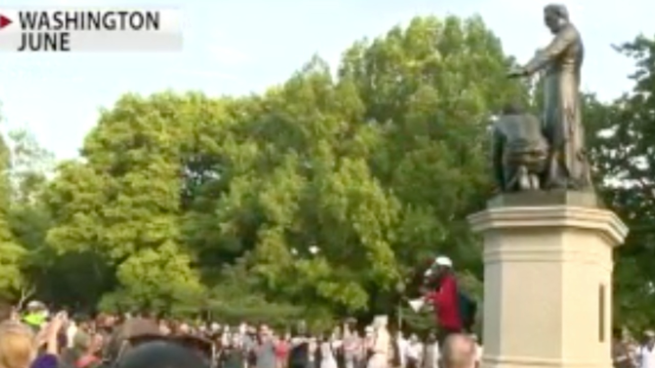 DC group calling for over 150 monuments to be changed, removed due to 'disqualifying history'