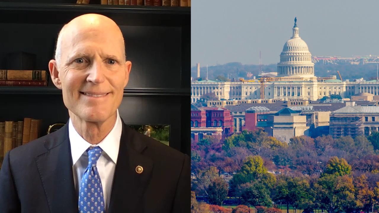 Sen. Rick Scott's Big Idea: Congressional term limits