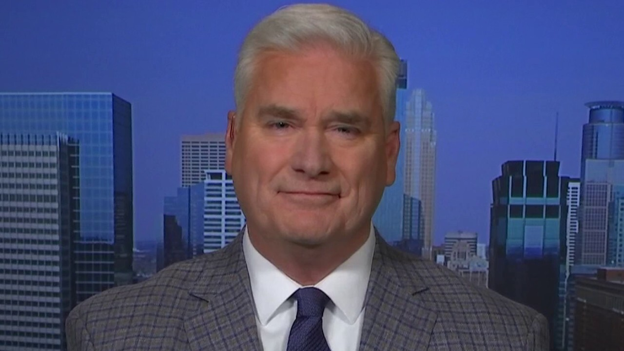 Minnesota Congressman Tom Emmer reacts to a recent Texas poll showing Biden up by 3% on 'Fox Report.'